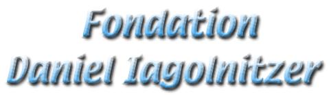 Fondation Daniel Iagolnitzer